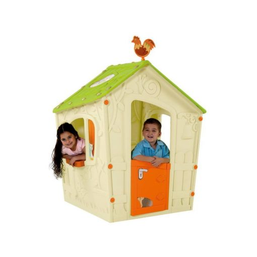 Magic műanyag gyerek játszóház 110x110x146 cm