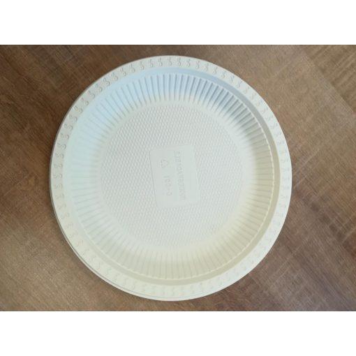 Party tányér kukoricából BIO lebomló 22,8 cm 50 db