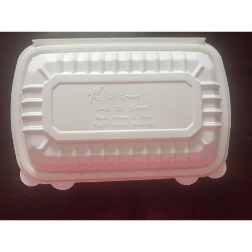 Party ételtartó doboz kukoricából BIO lebomló 700ml 5 db-os