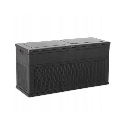 Zárható műanyag tároló MULTIBOX 320L antracit színben