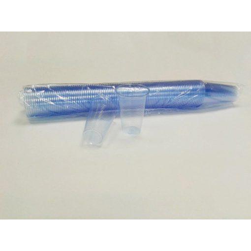 Party műanyag pohár 2dl 100db-os kék PP