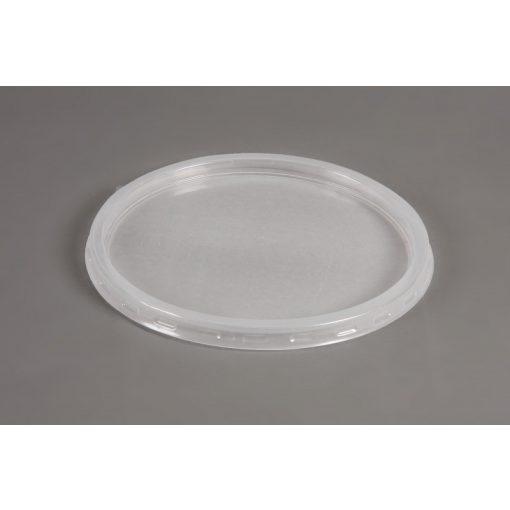 Party műanyag gulyástál tető 500-750ml natúr PP