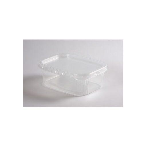 Party műanyag ételtartó doboz, 500ml, 50db-os mikrózható PP