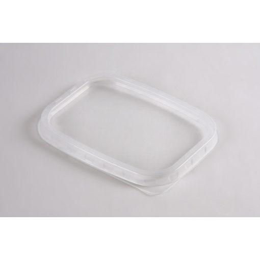 Party műanyag ételtartó doboz tető 50db-os mikrózható PP