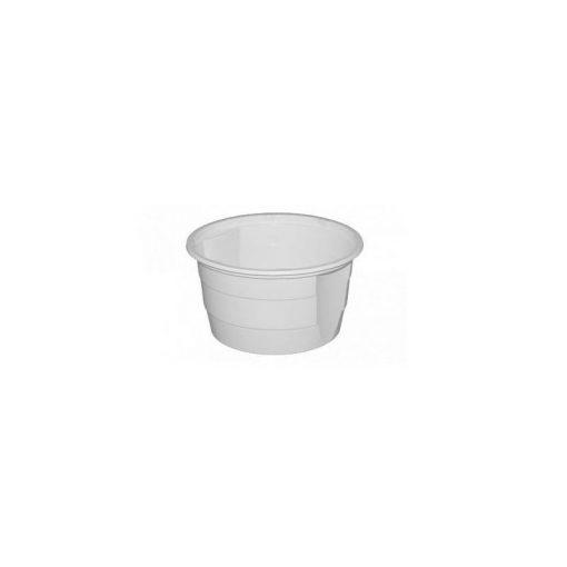 Party műanyag gulyástál füles 750ml 50db-os tetőzhető