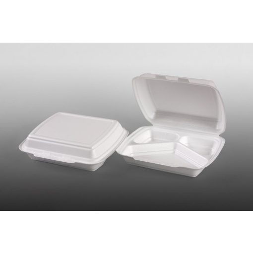 Habdoboz HP4/3 24,7x19,8X7,5cm fehér (3 részes) XPS