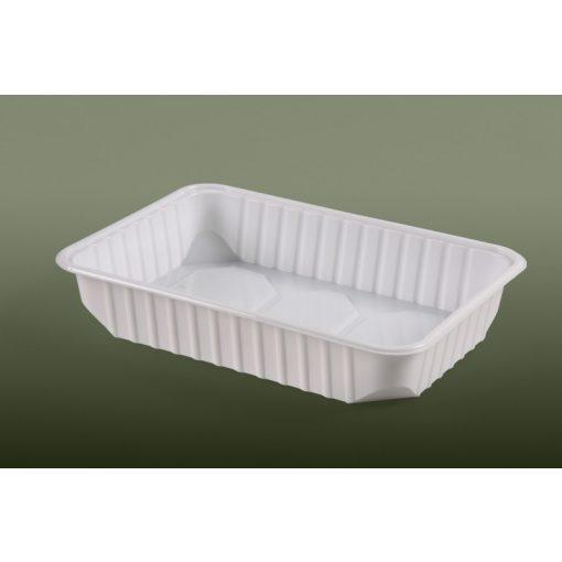 Varia doboz szögletes PP 500ml mikrózható, fehér