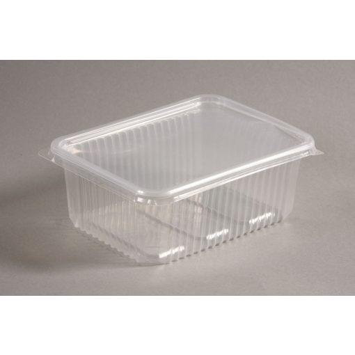 Varia doboz szögletes 500ml PP mikrózható átlátszó
