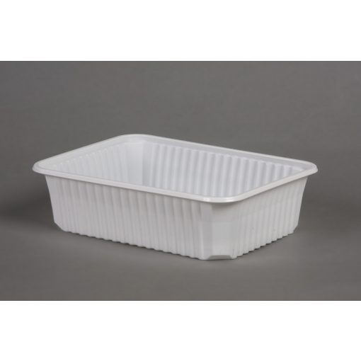 Varia doboz szögletes PP 750ml mikrózható fehér