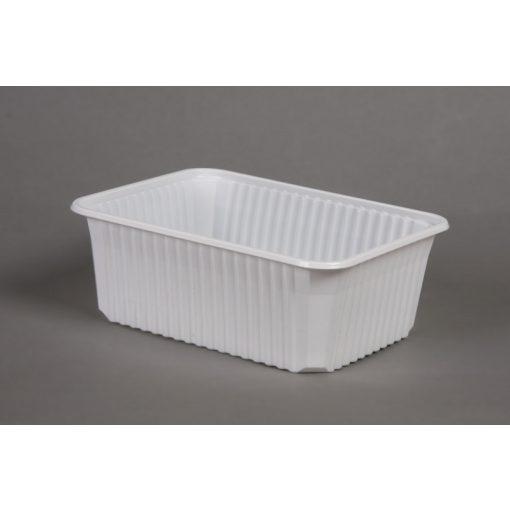 Varia doboz szögletes PP 1000ml mikrózható fehér
