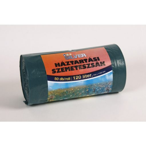Silver Extra szemeteszsák 700x1100x0,023mm 120l-es  50db/roll