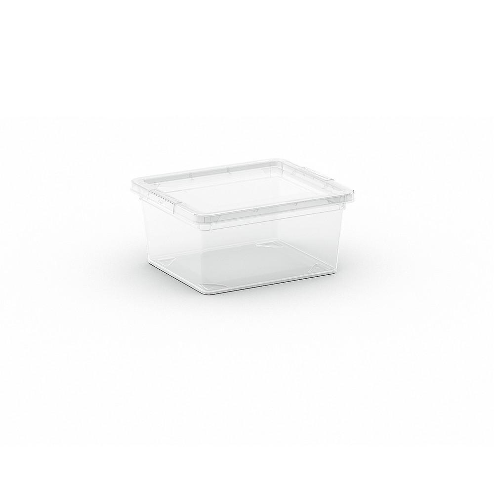 C-Box XXS műanyag tárolódoboz transzparens 2L 19,5x16,5x9,5 cm