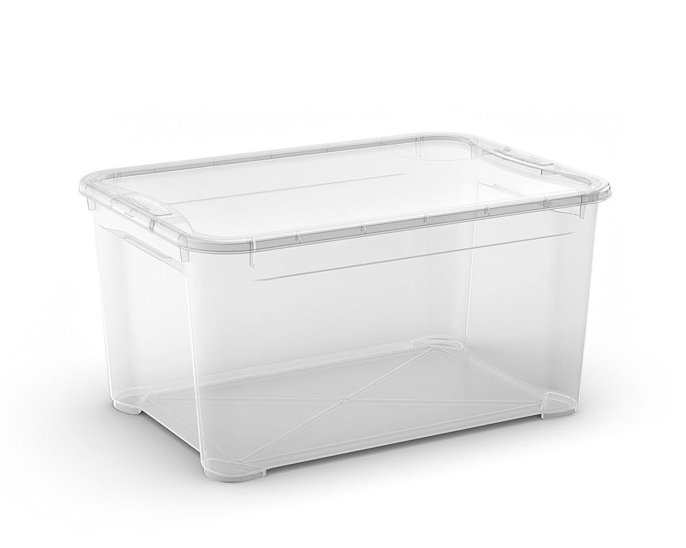 T Box L műanyag tárolódoboz 47L 55,5x39x28,5cm