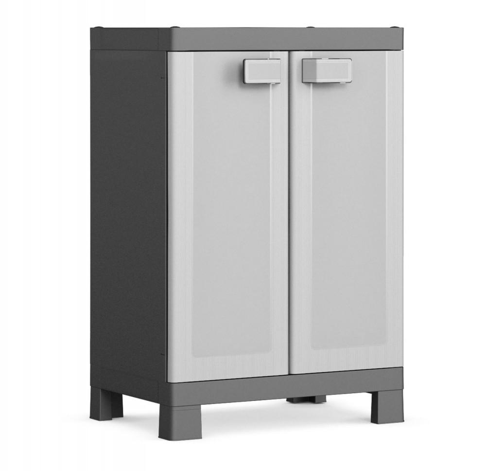 Logico Low műanyag szekrény 30 kg-os terhelhetőség 9635