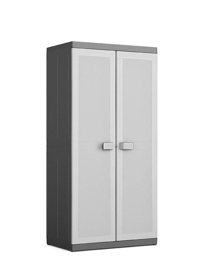 XL méretű akasztós és polcos Logico műanyag szekrény