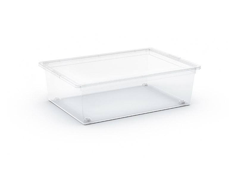 C box L tárolódoboz átlátszó 27L 38,5x55x16,5 cm