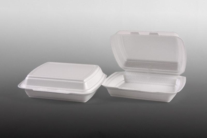Habdoboz HP4 osztatlan 24,7x19,8X7,5cm 100db-os, fehér XPS